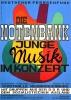 d_Plakat fuer Konzert in Neubrandenburg der Grafikerin Marja Baumann